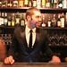 Steve da Cruz, owner of The Corner Suite Bistro De Luxe, enjoys opening night