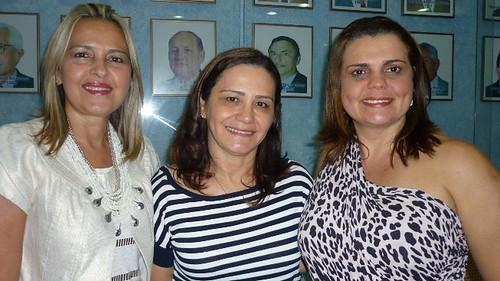 Suely Matos, Rosevete Oliveira e Eliane Chaves