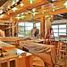 Building the wraparound counter/service area
