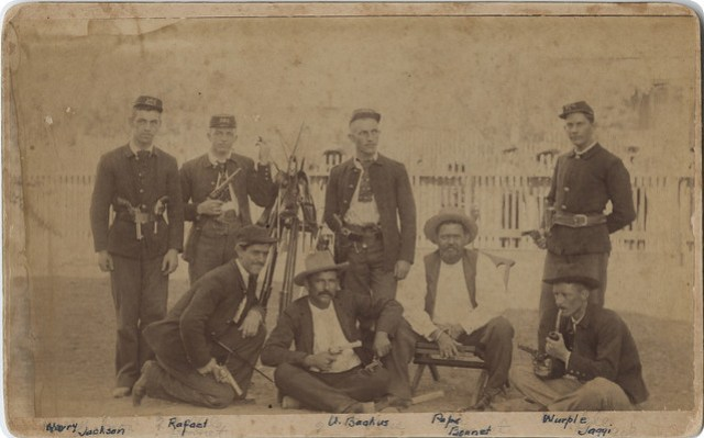 Maverick County Jail Guards, Eagle Pass Rifles