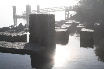 West Van Pier in The Early Morning
