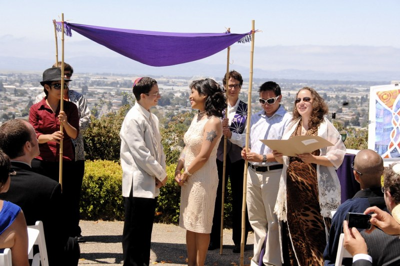 Before the chuppah