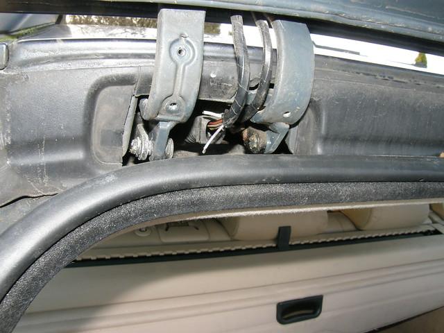 Bmw 5 Series Touring Tailgate Wiring