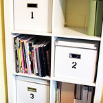 Numbered Storage Boxes