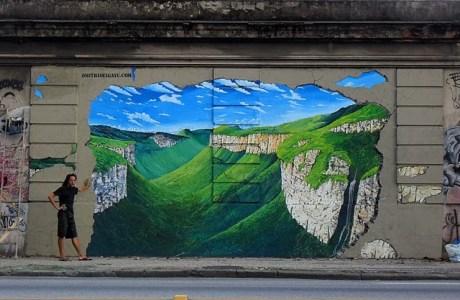 Mural 3D - Rio de Janeiro