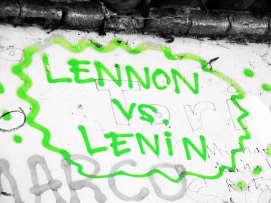 Lennon vs. Lenin