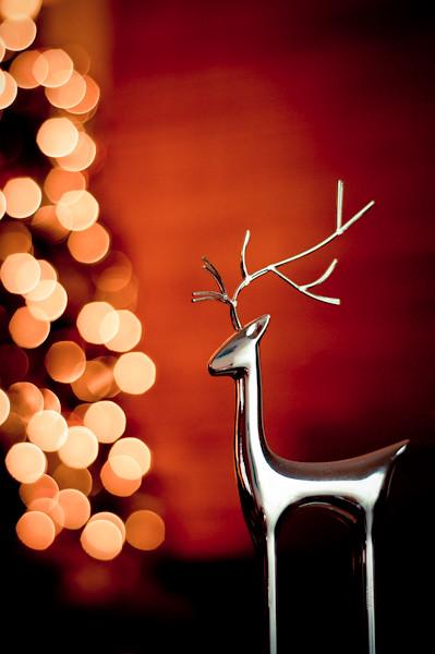 """The stockings were hung por the reindeer with care..."" por Carolyns Hope"