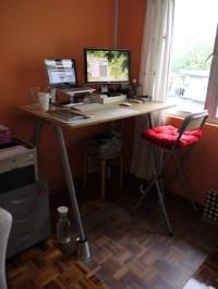 DIY IKEA Standing Desk Hack  adventures of a blogjunkie