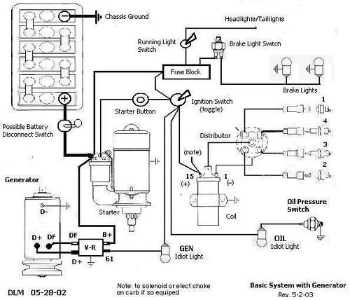 TheSamba  HBB Off-Road - View topic - Voltage regulator wiring