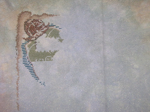 Pirate Treasure Cross Stitch Progress #3
