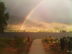 Reader J.I. | Overlooking the lake | Osoyoos, BC | 7:45pm
