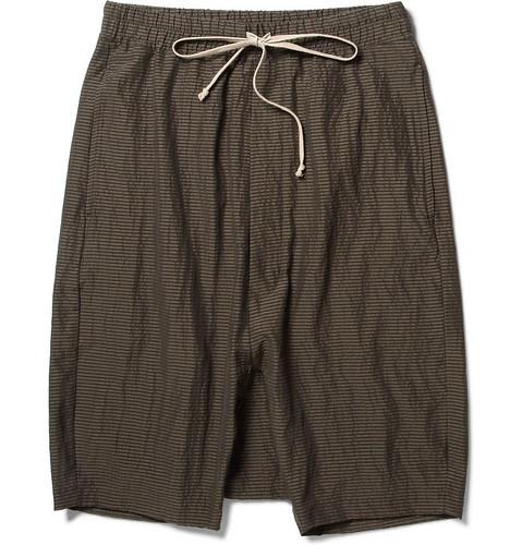 RICK OWENS Shorts SS12, MR Porter