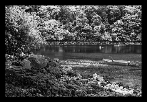 Hidden lake near Tobermory