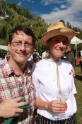 Andrew and Dana at the Okanagan Feast of Fields