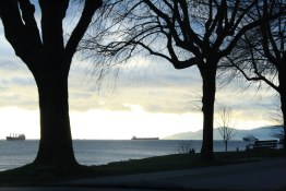 English Bay Winter View