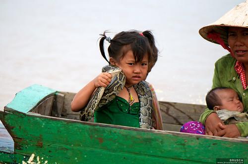 Child with Python