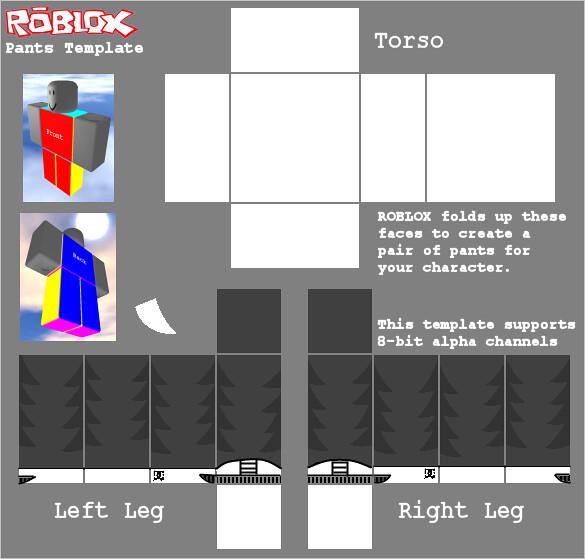 roblox pants layout - Solahub-rural