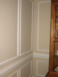 chair rail and simple wainscoting ideas | Flickr - Photo ...