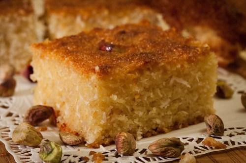 Basboosa, Egyptian Dessert