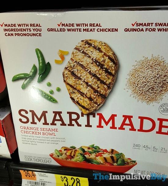 Smart Made Orange Sesame Chicken Bowl