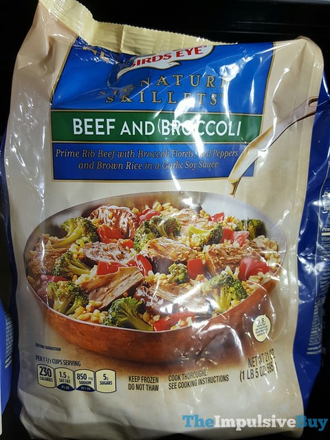 Birds Eye Beef And Broccoli Signature Skillets