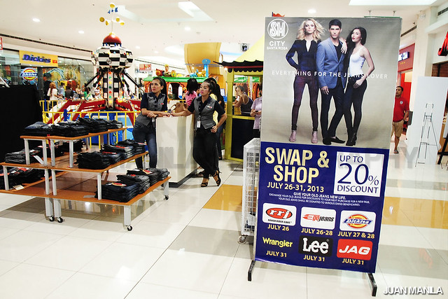 SM City Santa Rosa Swap & Shop promo is until July 31, 2013 only.