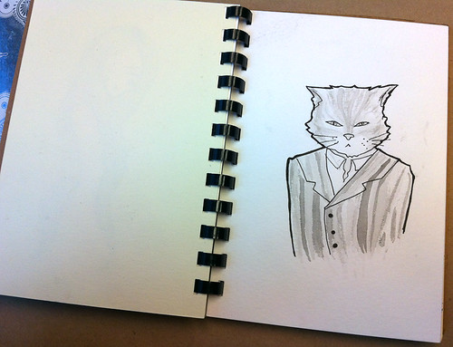 A visit to the 2012 Sketchbook Project show in Vancouver-2