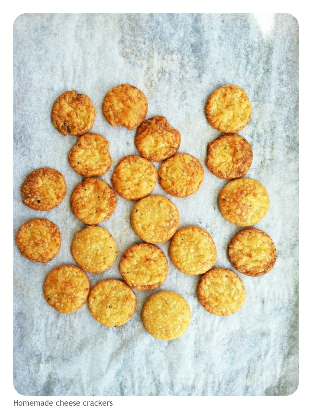 gluten-free homemade cheese crackers - Gluten Free Girl and the Chef