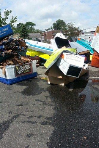 riverhead paper boat race