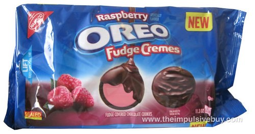 Nabisco Raspberry Oreo Fudge Cremes