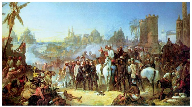 NCERT Class XII History Part 3: Theme 11   Rebels And The Raj Image by AglaSem