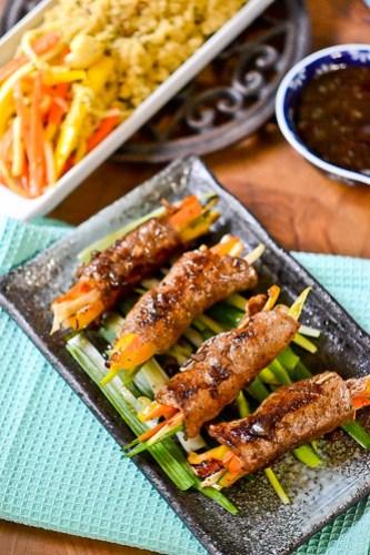 Balsamic Glazed Steak Rolls-13