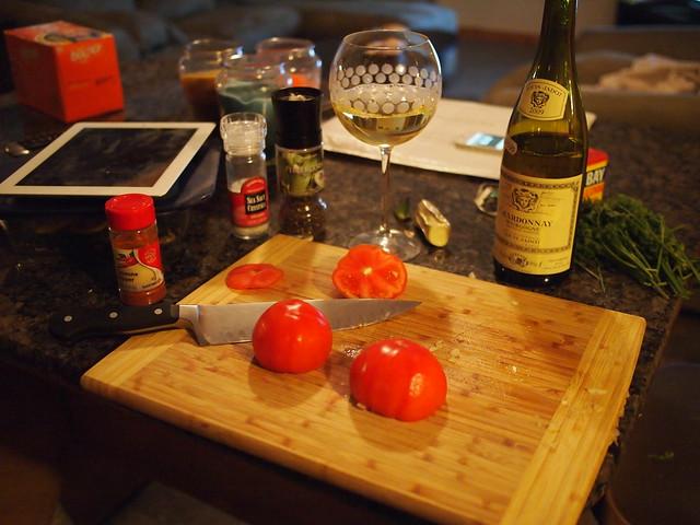 Dinner: Steamed Mussels