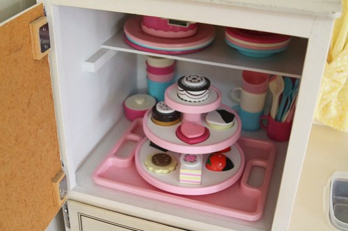 play kitchen, melissa and doug sweet treat tower