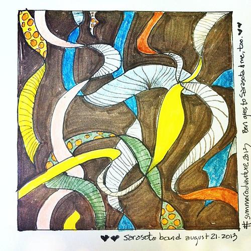 #summeradventure2013 #doodle #doodleaday xoS
