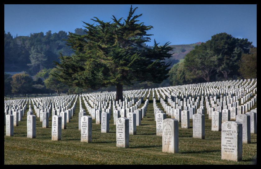 Freedom is not Free - Golden Gate National Cemetery - 2009