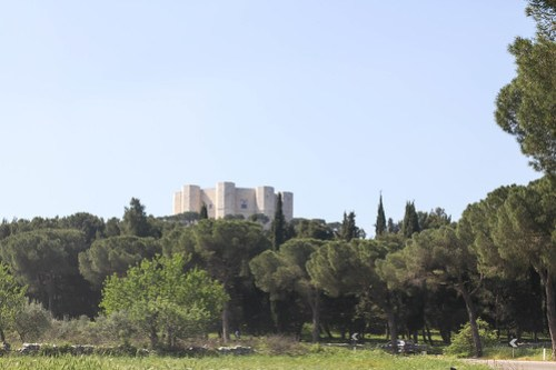 Castel del Monte from a distance