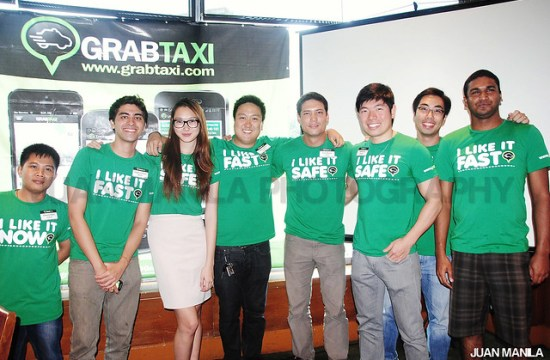 The GrabTaxi Green Team.