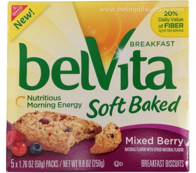 belVita Soft Baked Mixed Berry Breakfast Biscuits