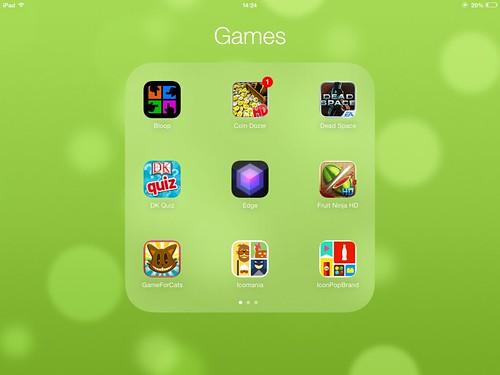3x3 grid folders