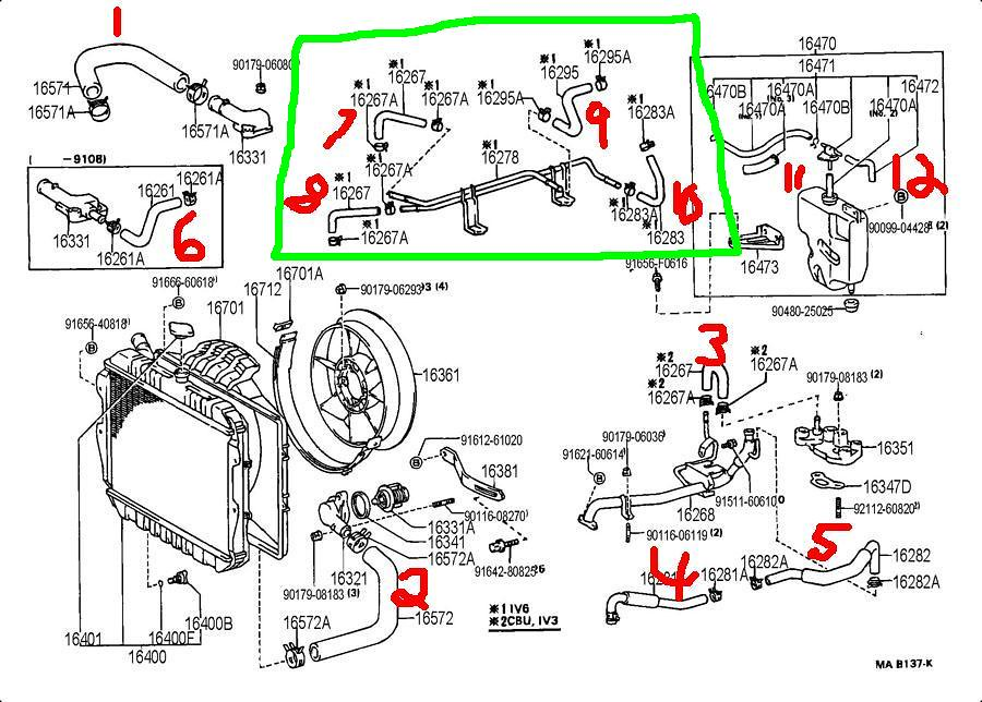 3vze Parts Diagram - Wiring Diagram Progresif