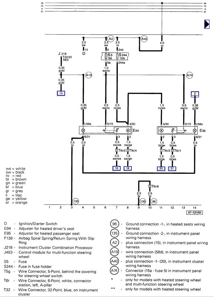 2002 Audi A4 Wiring Diagram - Wiring Diagram Progresif
