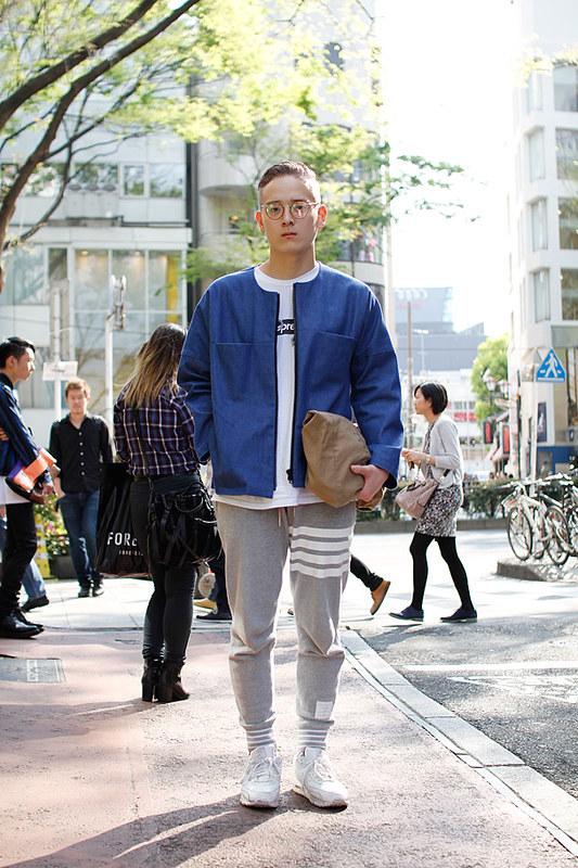 Drop Tokyo Street Style - Area- Harajuku,Tokyo | 原宿,東京 Name- Mitsuru