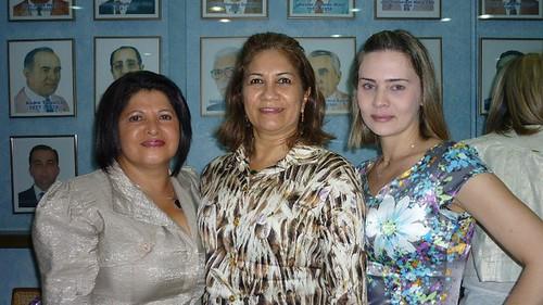 Dalva Martins, Ruth Oliveira e Elane Aguiar
