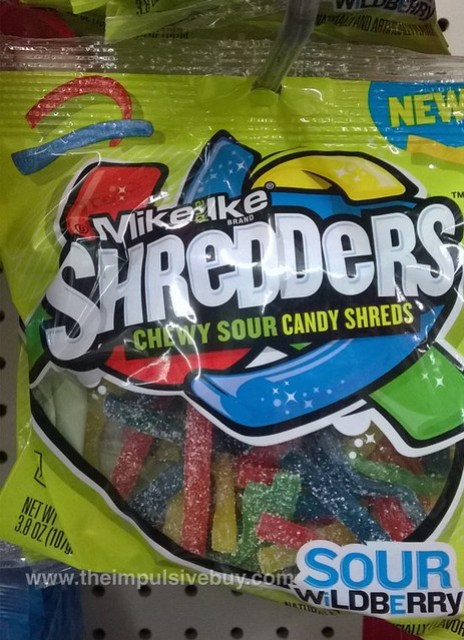 Mike and Ike Sour Wildberry Shredders
