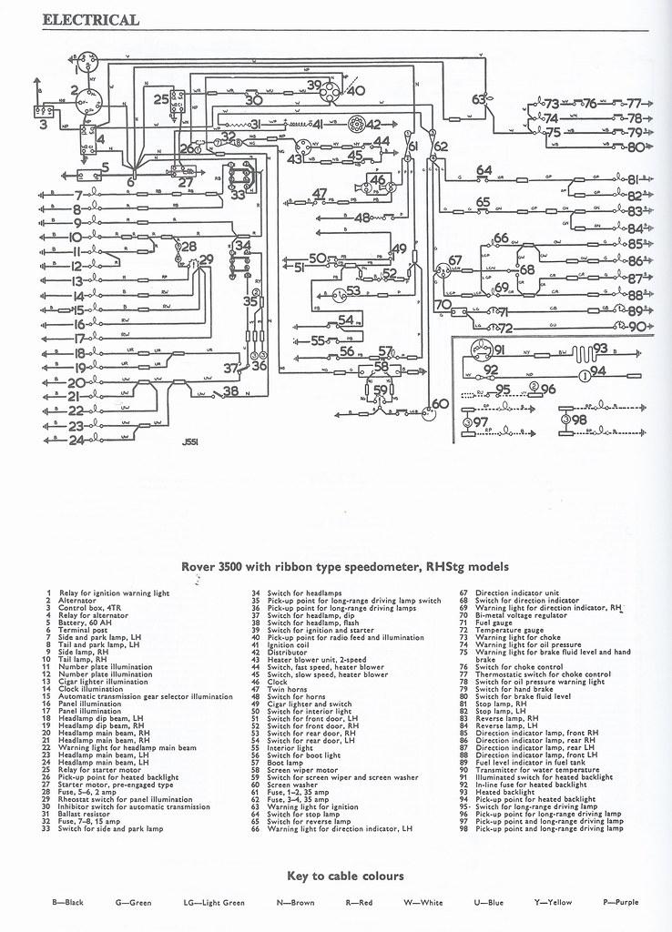Rover P4 Wiring Diagram Wiring Diagram