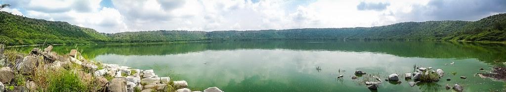 Lonar lake - Panorama