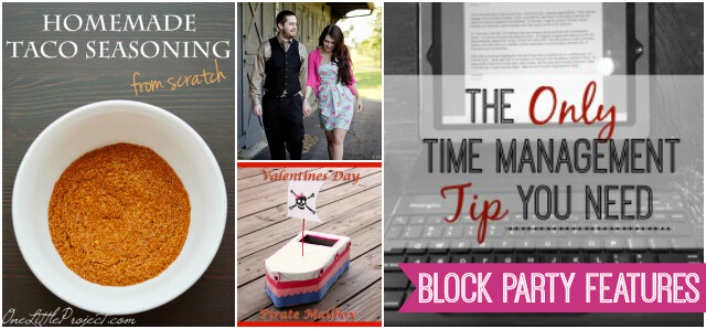 Weekend Block Party Blog Features