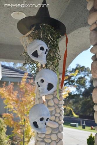 Halloween Porch Mobile