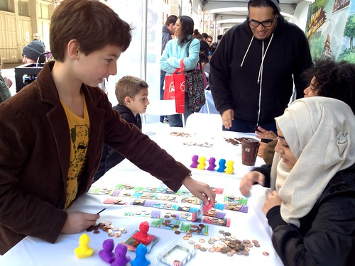 A whole lot of photos from flying pterosaurs at the Games For Change Arcade at the Tribeca Film Festival. #G4C14 @AMNH
